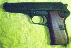 CZ-52 with smooth walnut grips